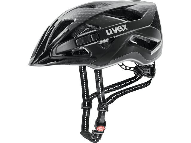 UVEX City Active Casco, black matt